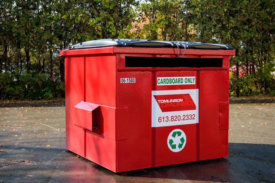 Industrial Garbage Containers : Waste recycling containers tomlinson group