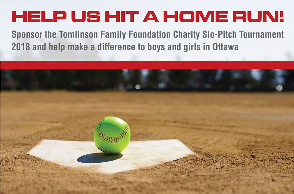 Charity Slow Pitch banner